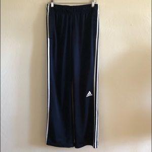Adidas Navy Blue Stripped Sweat Pants